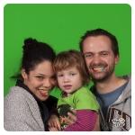 Alex, Lukas und ihre Kleine - Foto: D. Böpple